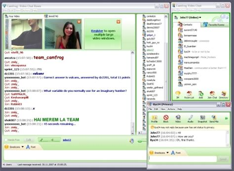 Camfrog Video Chat Free Download And Software Reviews Chat Room For 18