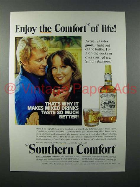southern comfort ad 1975 southern comfort liquor ad enjoy life