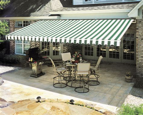 canvas patio awnings 5 reasons a retractable awning is a financial investment