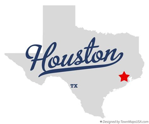 houston texas on the map map of houston tx texas