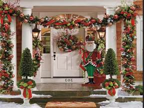 Christmas Decorating Ideas by Easy Outdoor Christmas Decorating Ideas Pinterest Outdoor