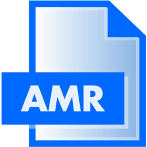 format file amr amr file extension icon file extension icons softicons com