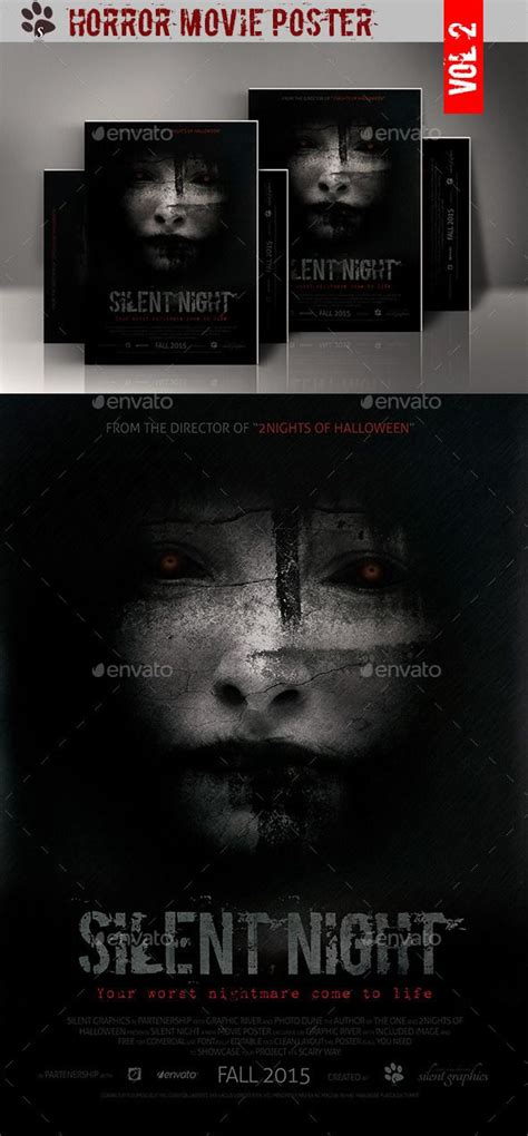 Horror Movie Poster Movies Movie Poster Template And Movie Posters Documentary Poster Template