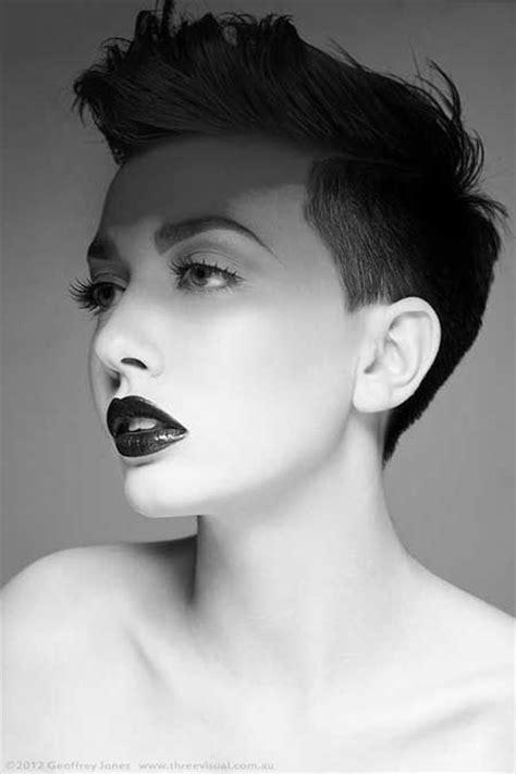 short precision haircut black women short hair for women longer bangs pictures photos and