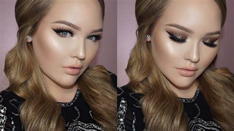 nicki minaj inspired bold winged liner amp glitter makeup