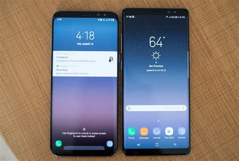 Samsung Galaxy Note S8 samsung galaxy note 8 is but not much more than