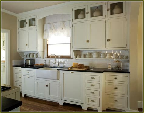 antique white shaker kitchen cabinets home design ideas