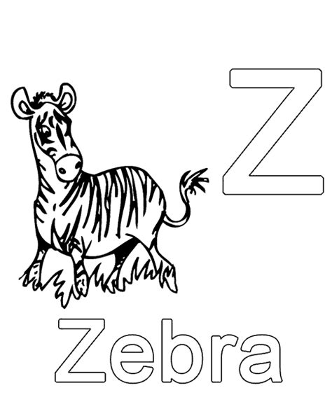 german alphabet coloring pages letter z to print or download for free
