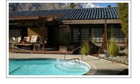 palm springs bed and breakfast sakura japanese bed and breakfast inn bed and breakfast
