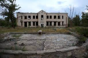 Abandoned Site by Abandoned Building In Central Kurchatov Special Nuclear