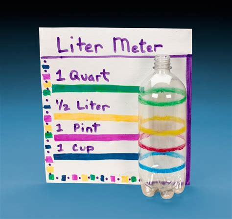 How To Make A L by Liter Meter Experiment With Volume Crayola Co Uk