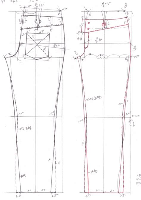 jeans pattern maker drafting jeans pattern 469b0eaf580ca filename 청바지패턴2 gif