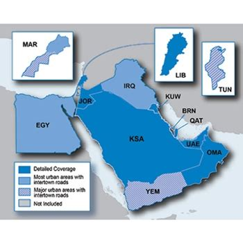 middle east map for garmin nuvi garmin city navigator middle east and northern africa