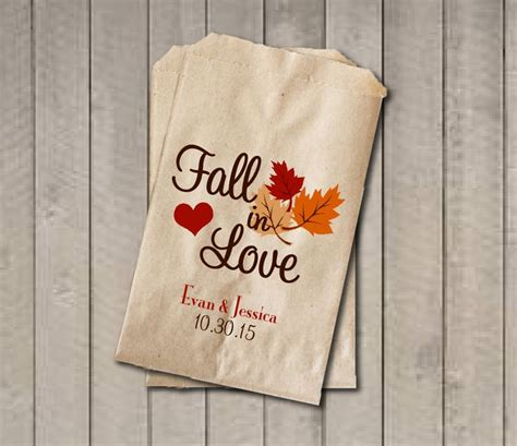 favor bags for buffets wedding favor bags fall in favor bags personalized wedding bags fall wedding