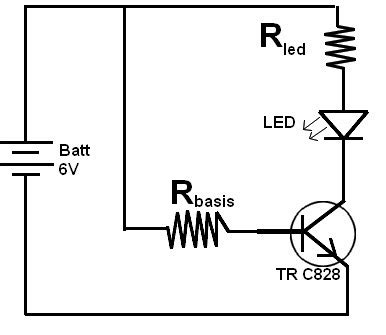 Lu Otomatis Led teori dan rangkaian transistor sebagai 28 images rumus