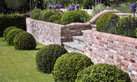 brick wall designs brick garden walls brick garden