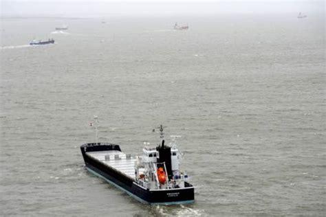 mare nord collisione tra navi affonda cargo