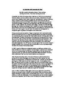 leonardo da vinci biography essay an interview with leonardo da vinci gcse art marked by