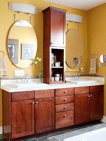 Bathroom Countertop Storage Cabinets Creative Bathroom Storage Ideas Sinks Vanities And Middle
