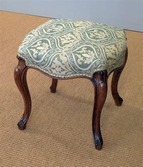 Victorian stool, antique stool, small antique stool