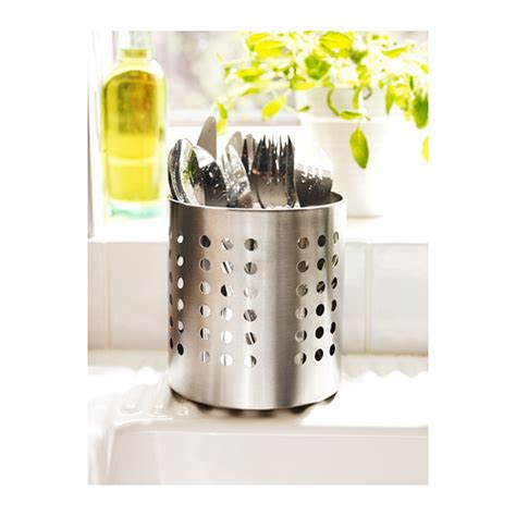 ikea utensil holder cutlery stand stainless steel utensil holder organizer