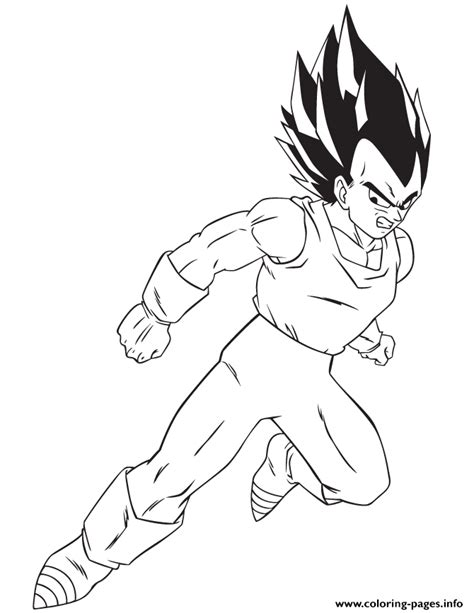 z coloring book z vegeta coloring page coloring pages