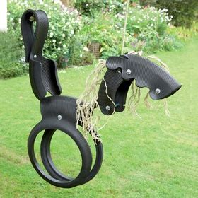 horse tyre swing fab horse tyre swing made from recycled materials my