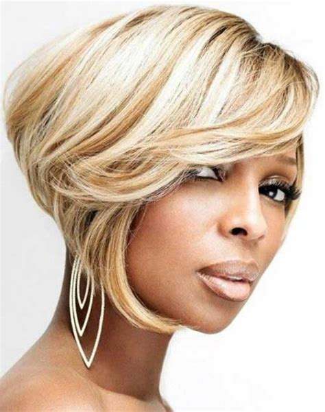 photos of black hairstyles mary j bliges sophisticated bob 30 best bob haircuts for black women bob hairstyles 2017