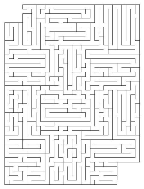 printable labyrinth maze 20 best images about hard mazes on pinterest coloring