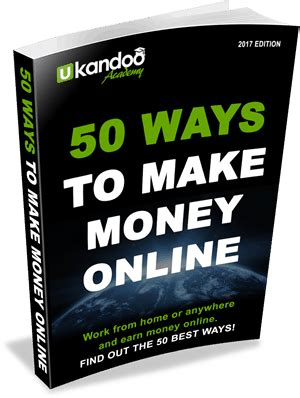 50 Ways To Make Money Online - outsourcing guide ukandoo