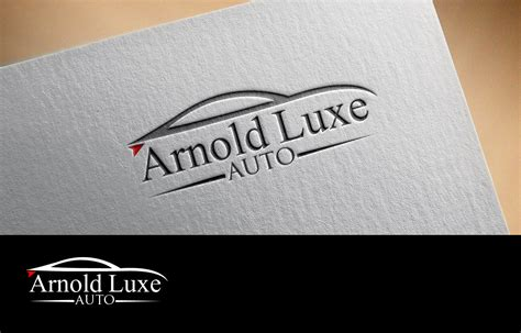 luxury cars logo upmarket professional logo design for johnny arnold by