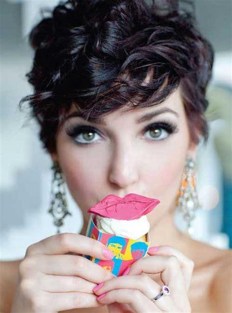 cute curly pixie hairstyles  haircut ideas fave