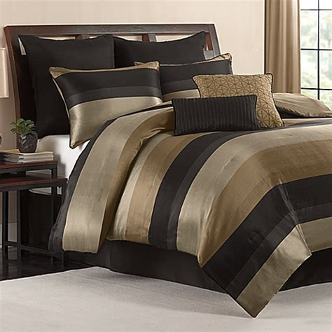 hudson comforter set in black bed bath beyond