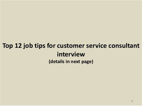 Client Service Consultant by Top 52 Customer Service Consultant Questions And Answers Pdf