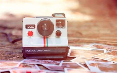 retro polaroid camera wallpapers and images wallpapers