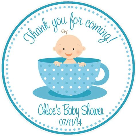 Baby Shower Favor Tags by Tea Baby Shower Favor Tags Sweetdesignsbyregan