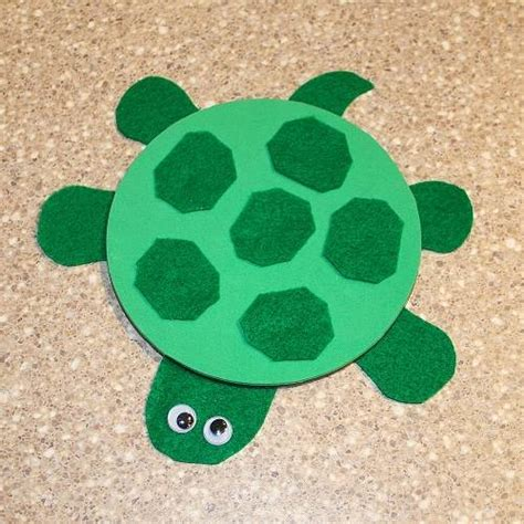 Paper Plate Turtle Craft - arts crafts our class animals