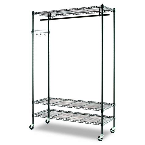 Wire Storage Rack by 5 Best Rolling Garment Rack Make The Laundry Routine