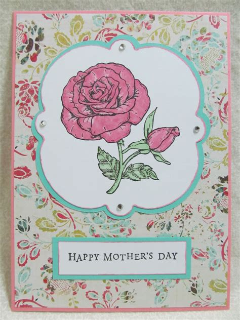 Handmade Mothers Day Card - savvy handmade cards handmade s day card