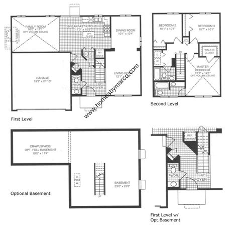 essex homes floor plans essex model in the lakewood creek subdivision in