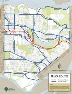 Truck Route Map by Truck Routes