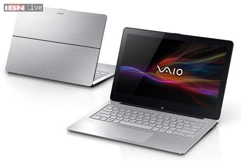 Notebook Tablet Sony vaio flip sony launches laptop tablet hybrid devices at rs 99 990 onwards news18