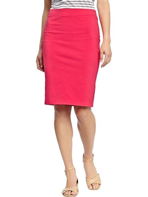 navy s jersey pencil skirts sartorialism
