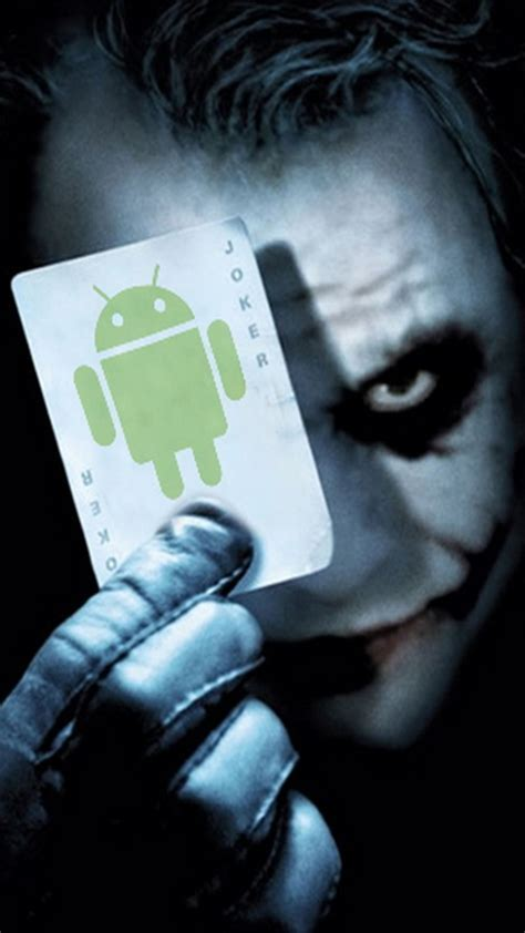 Android Joker Face Android Wallpaper free download