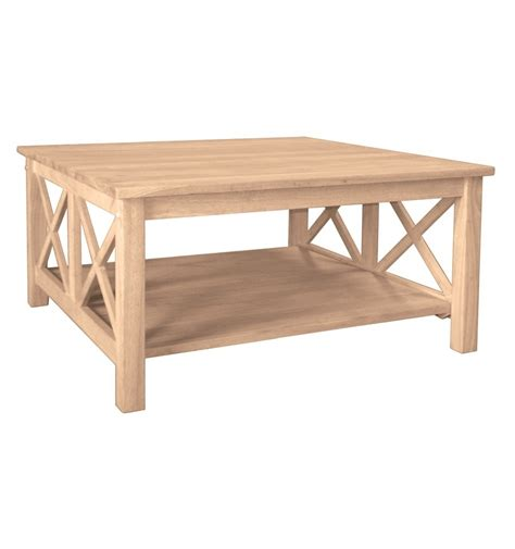 36 inch hton square coffee table simply woods