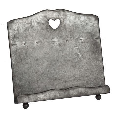 zinc color zinc color book holder by antic line ideal for a vintage feel