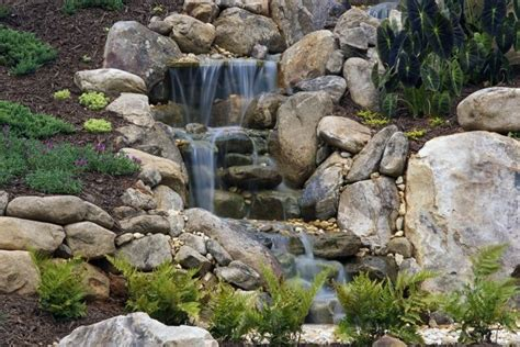 rock solid landscaping build your own water feature water features pondless waterfalls 171 rock solid landscaping