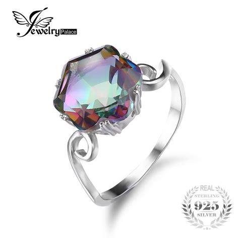 get cheap mystic topaz rings aliexpress