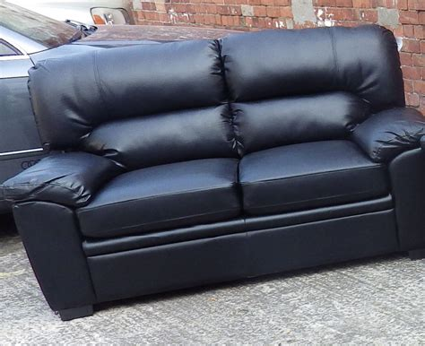 leather 2 seater sofa clearance