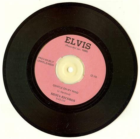 ebay vinyl elvis presley quot elvis quot rare siesta records 45 single vinyl